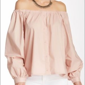 Honey Punch Off-the-Shoulder Blouse